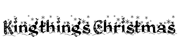 kingthings christmas 2 schriftart herunterladen. Black Bedroom Furniture Sets. Home Design Ideas